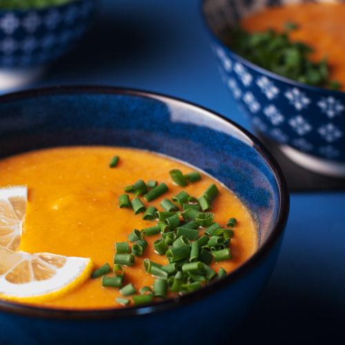 Чечевичный суп с имбирем
