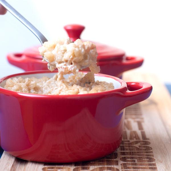 Рисовый пудинг из бурого риса