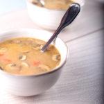 Суп с амарантом и шампиньонами рецепт