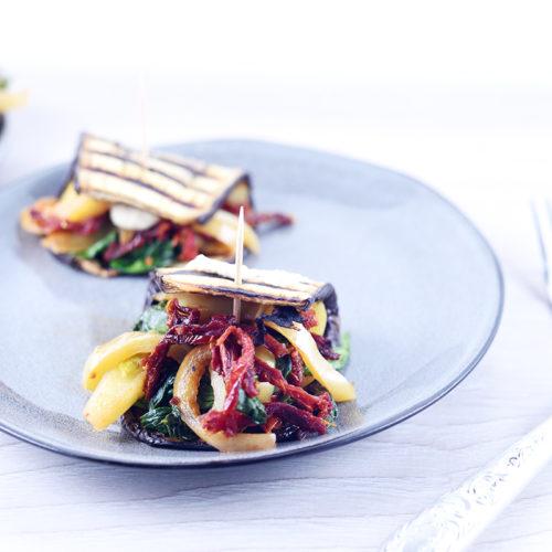 Салат из баклажанов и овощей
