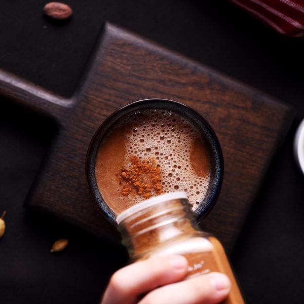 Кремовый какао из сырых какао-бобов