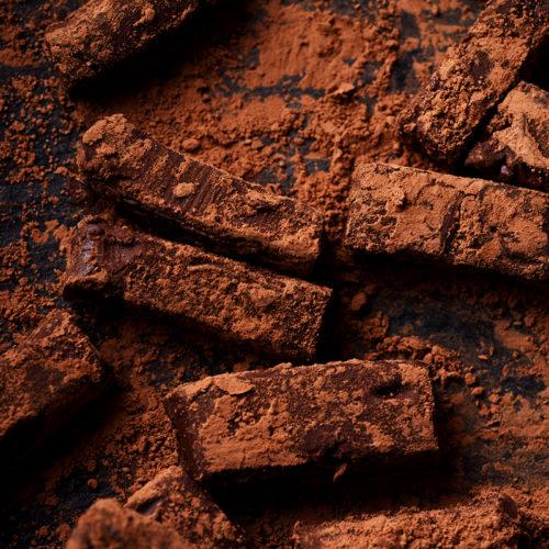 Шоколадные трюфели на кокосовом молоке без сахара