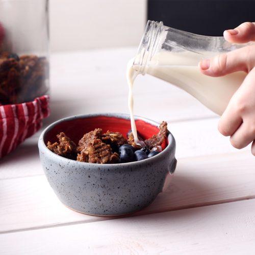 Шоколадная гранола на урбече без орехов